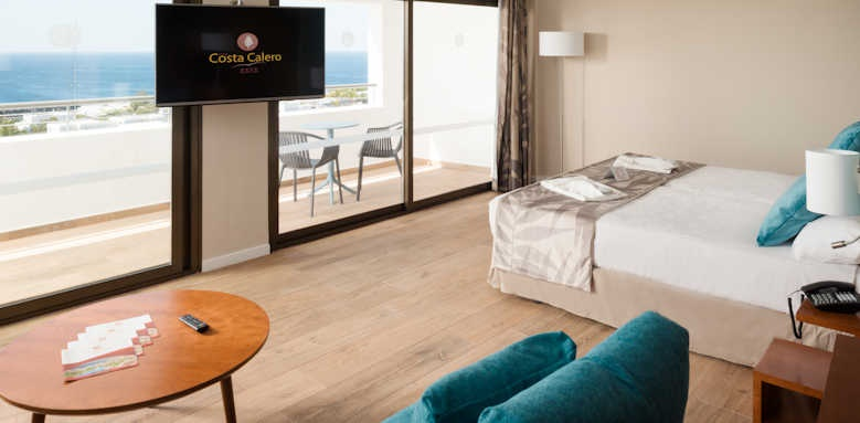 Costa Calero, select junior suite with distant ocean view