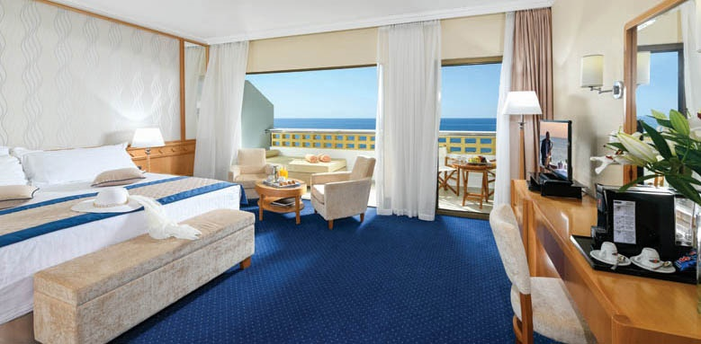 Athena royal, junior suite with sea view