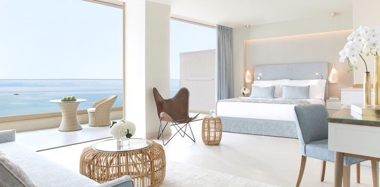 ikos dassia, panorama junior suite sea view