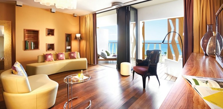 Bohemia Suites & Spa, Star Sky suite with ocean view