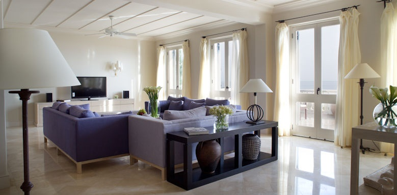 Anassa, Aether suite lounge