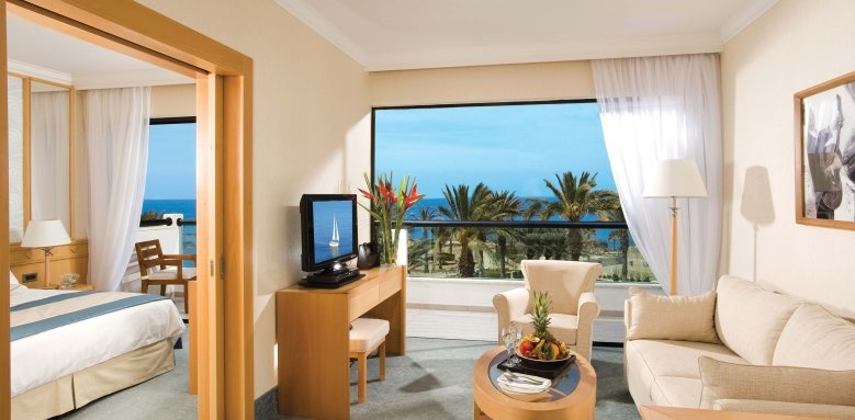 Constantinou Bros Asimina Suites Hotel, one bedroom suite front sea view