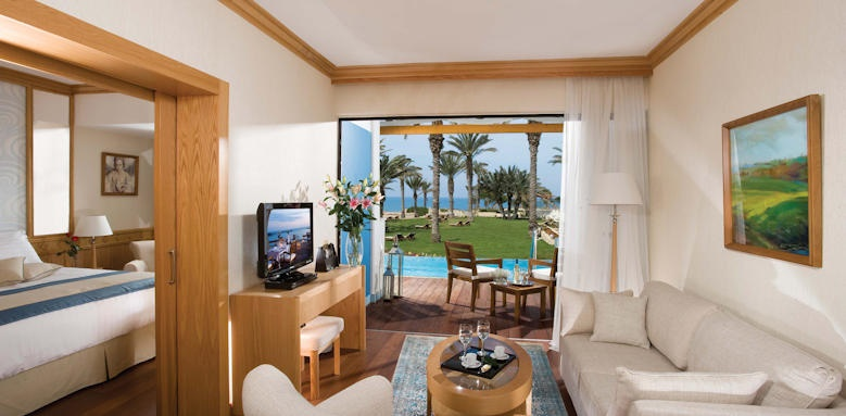 Asimina Suites, One Bedroom Executive Suite with Private Pool/ Front Sea View