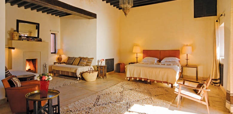 Kasbah Bab Ourika, deluxe suite