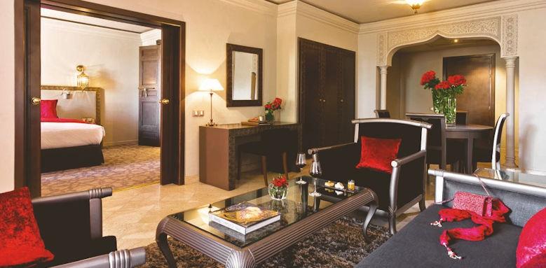 sofitel marrakech palais imperial, prestige suite