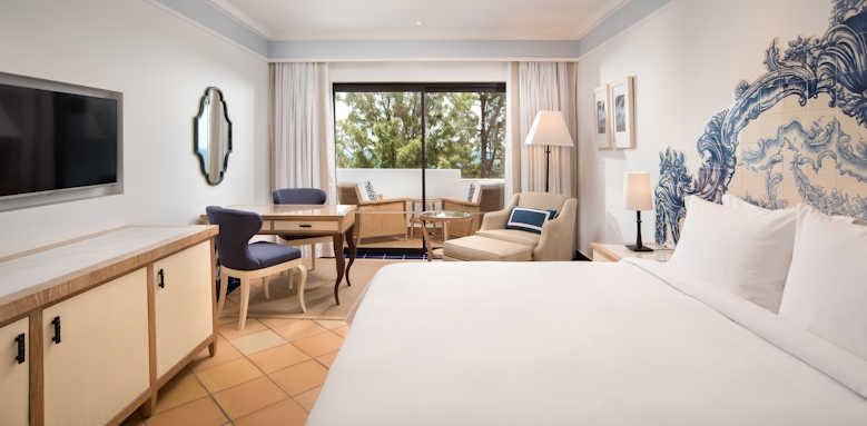 Pine cliffs hotel, deluxe resort view