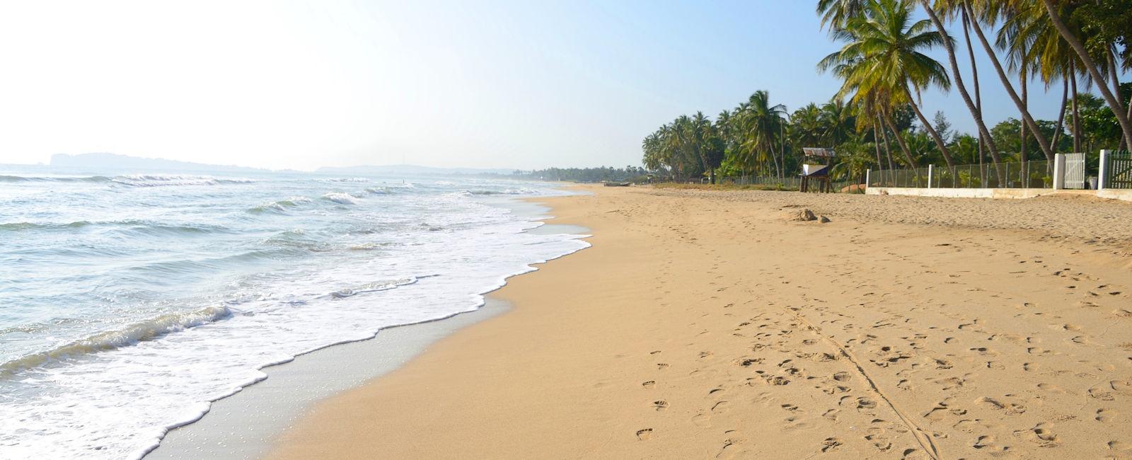East Coast Sri Lanka beach