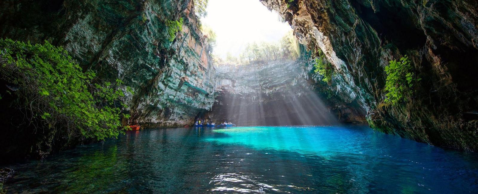 cave, kefalonia