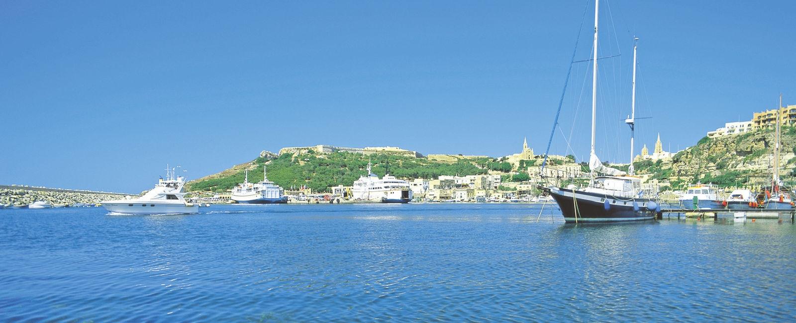 Malta sea image