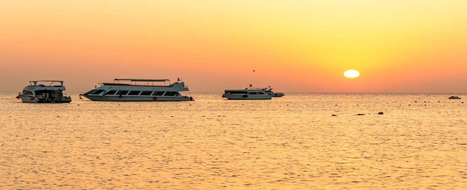 Sunset cruisers at Makadi Bay