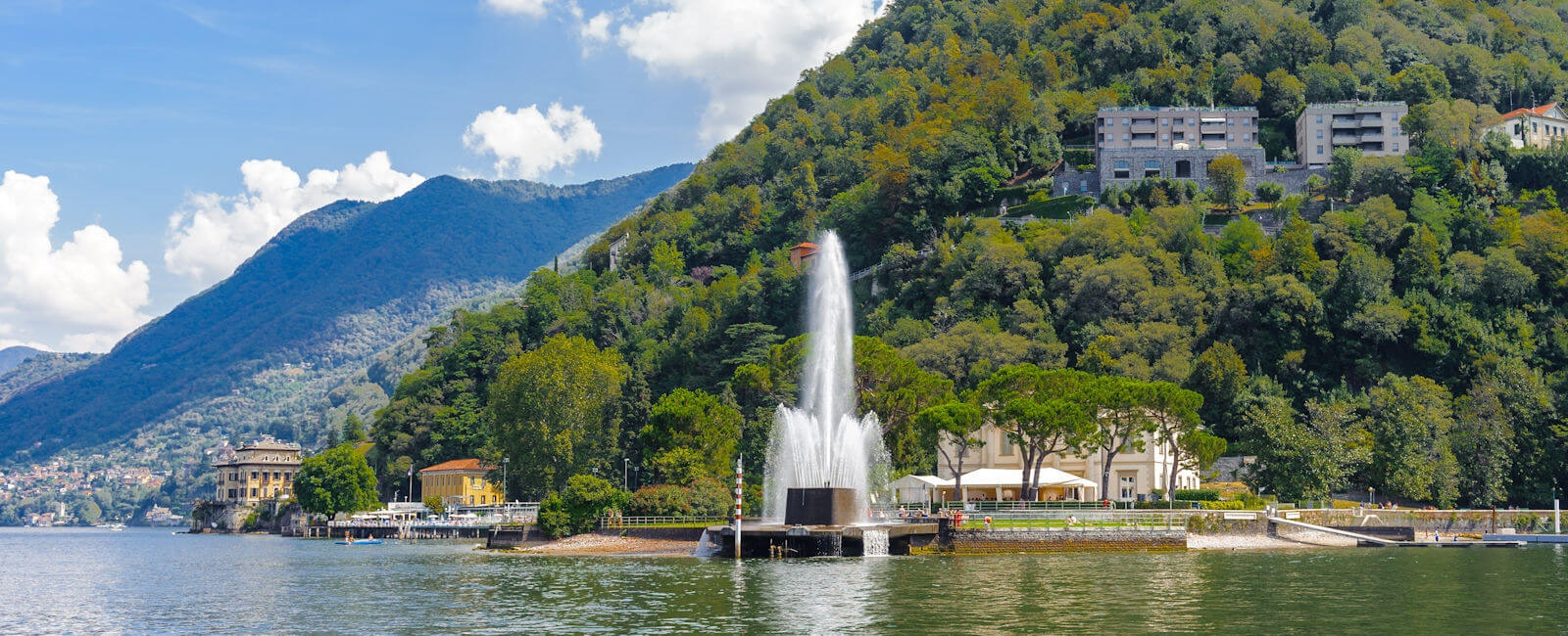 blevio fountain, lake como
