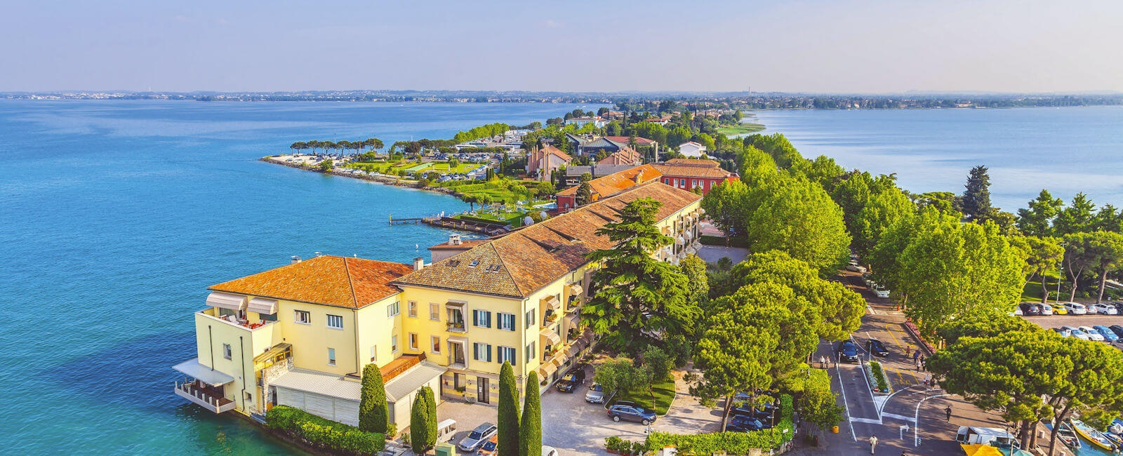 view of sirmione, lake garda