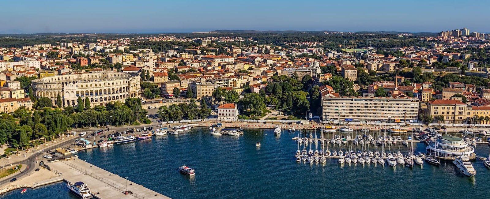 luxury pula holidays, croatia