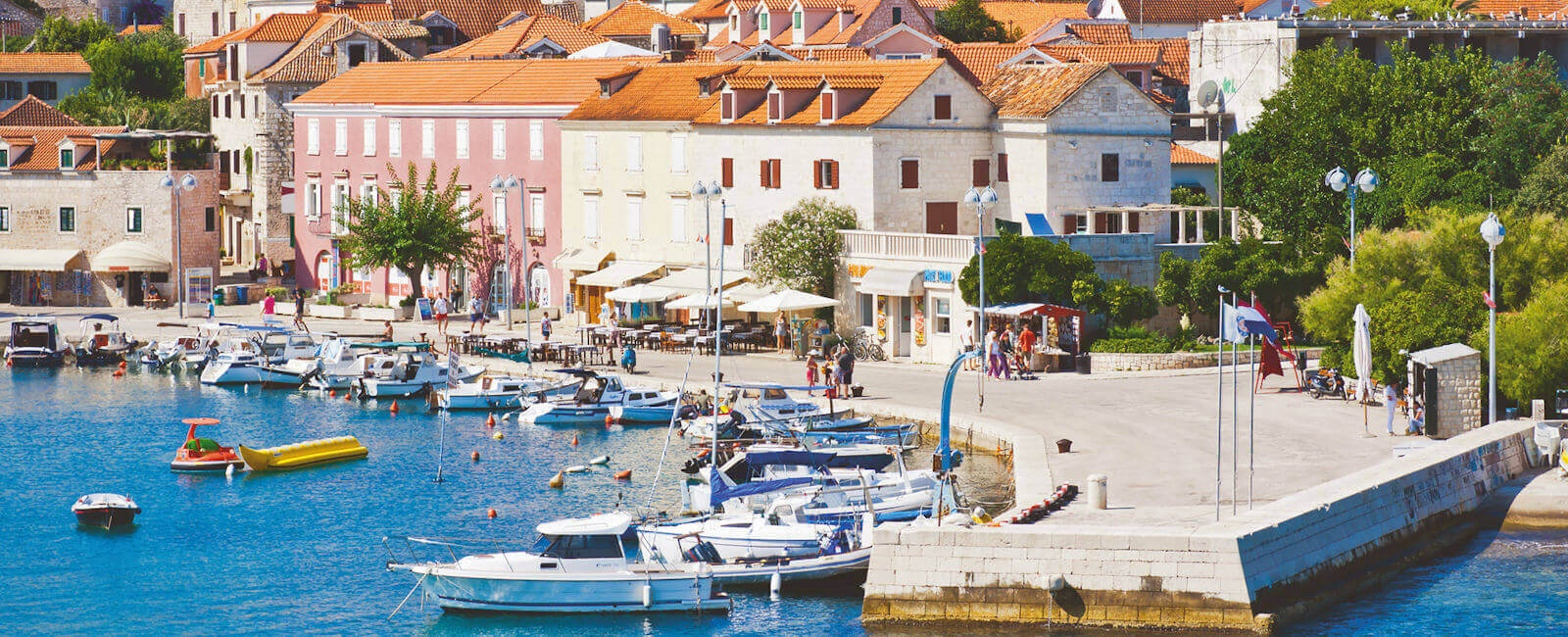 supetar harbour, brac island