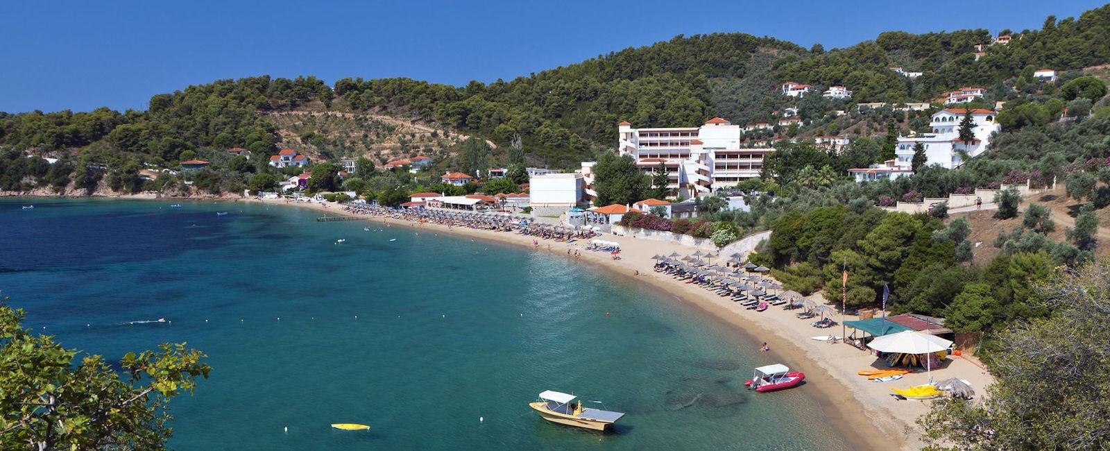 vasilias beach, skiathos
