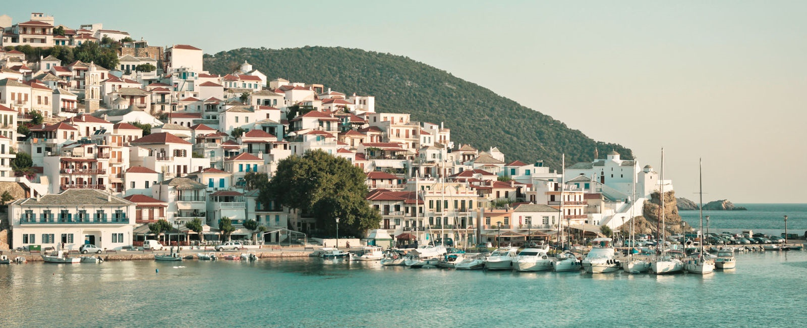 skopelos town, greece