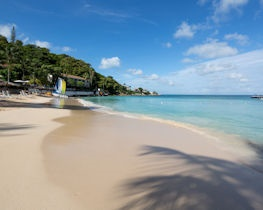 blue waters beach, antigua