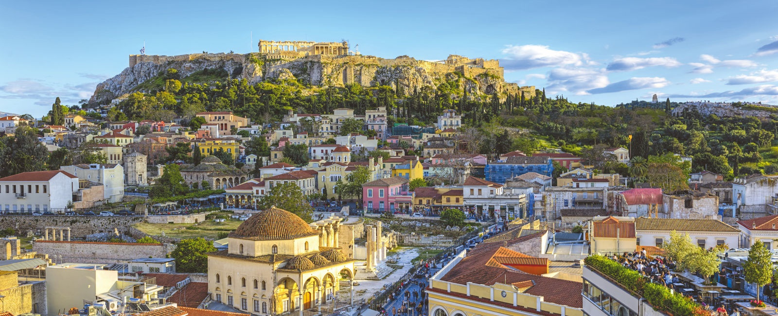 luxury athens city breaks