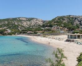Baja Sardinia, beach